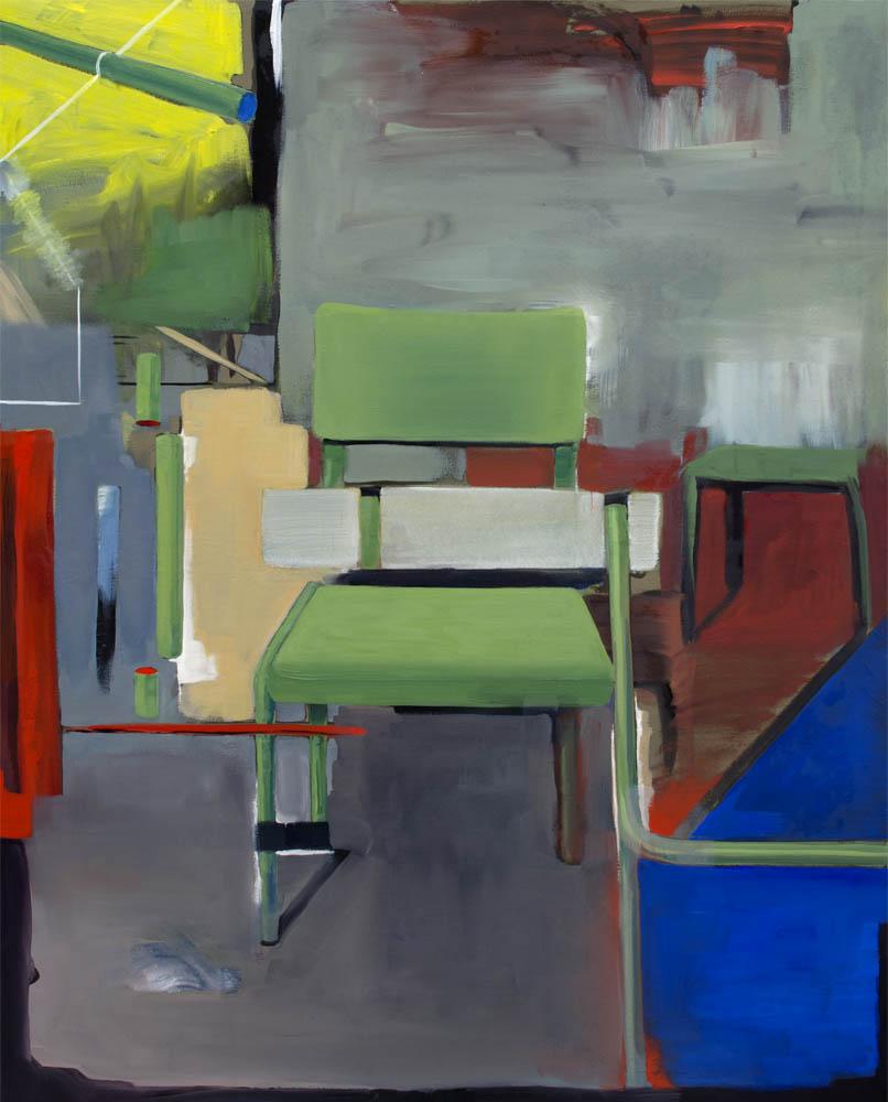 APROXIMACIÓN RELATIVA, 2016, óleo sobre lienzo, 150 x 120 cm.