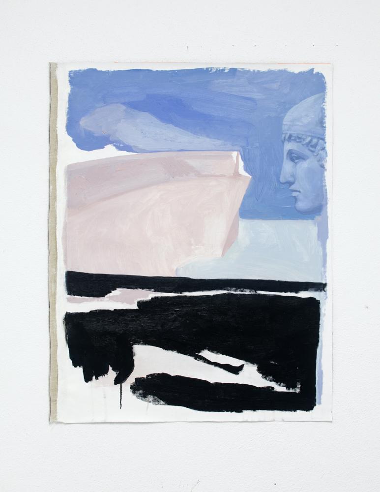 PINK VIEWS, 2020, óleo sobre lienzo, 72 x 57 cm